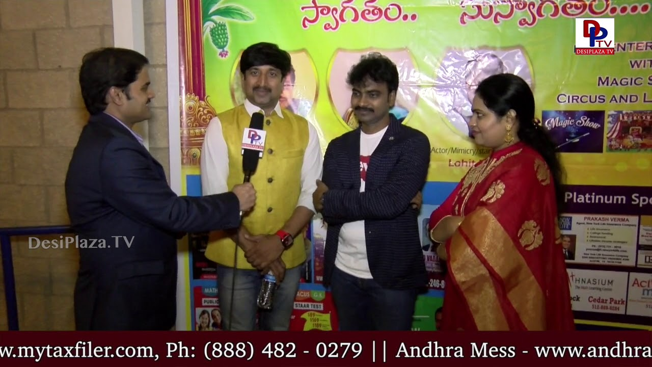 Lohith Kumar hilariously imitates SPB at TCA Austin Ugadi & Sri RamaNavami Celebrations 2018 || DPTV
