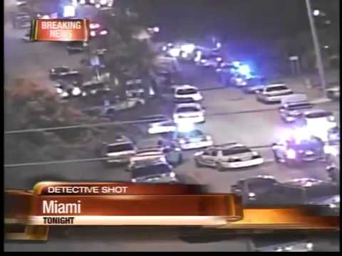 Officer shot, suspect killed in Miami shootout