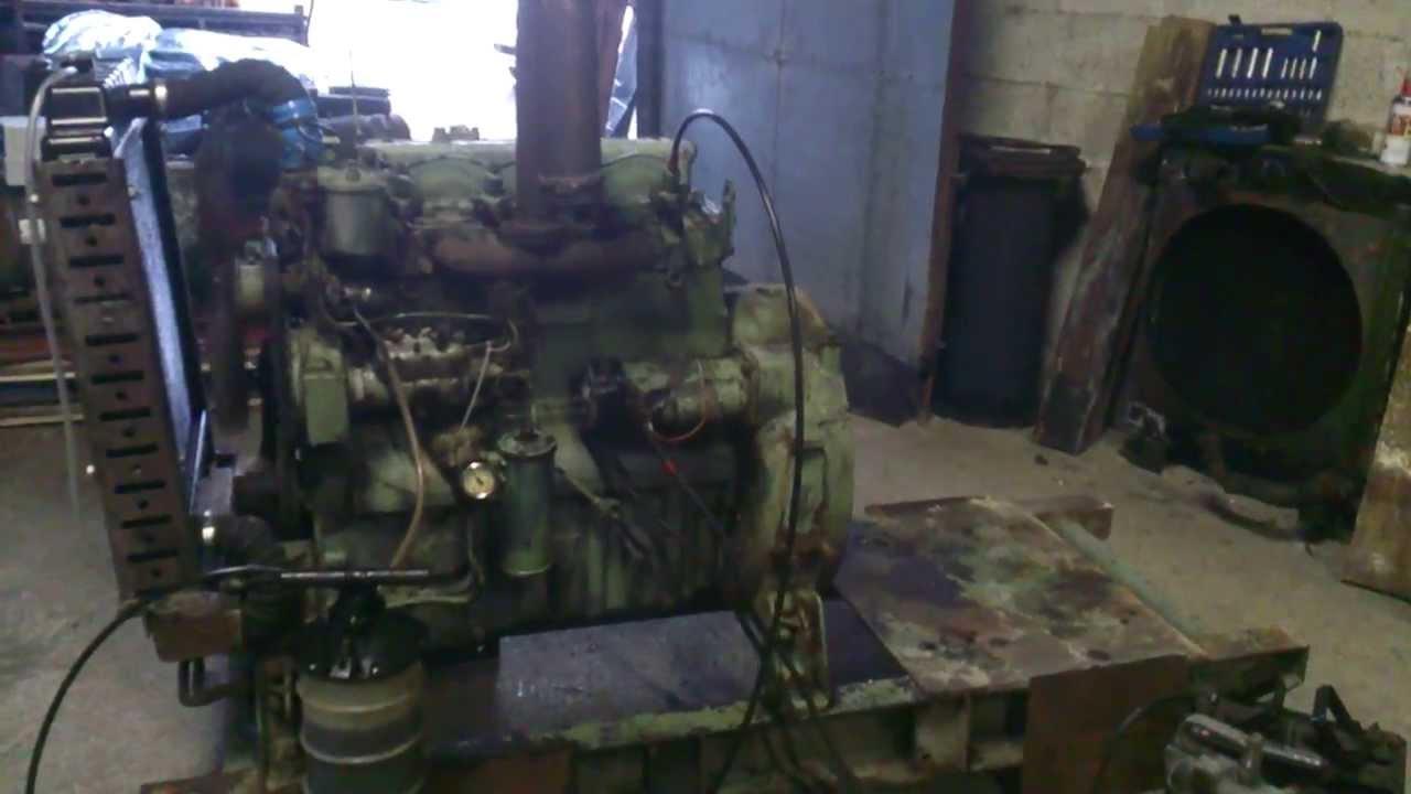 Perkins 4270 270 4 Cylinder Diesel Engine Youtube