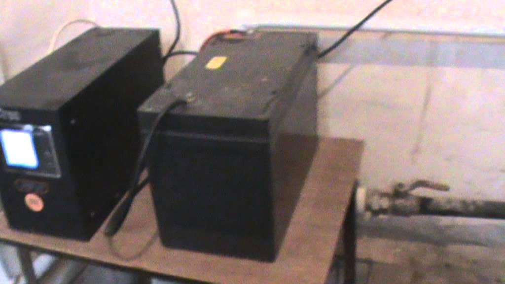 Запуск эл. котла через инвертер - YouTube
