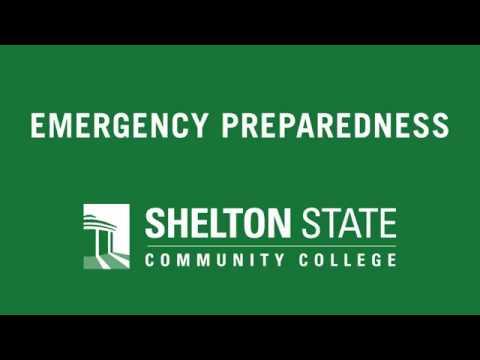 Shelton State Community College Emergency Preparedness 2016
