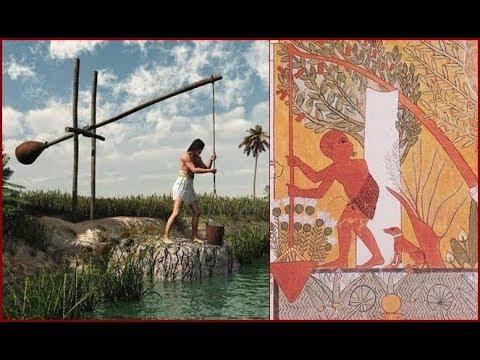 Ancient Egyptian shaduf