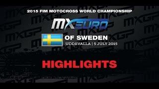 European Championship EMX300 Race 1 Highlights Sweden