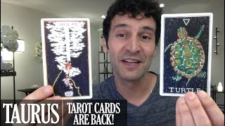 TAURUS August 2018 - Extended Monthly Intuitive Tarot Reading by Nicholas Ashbaugh