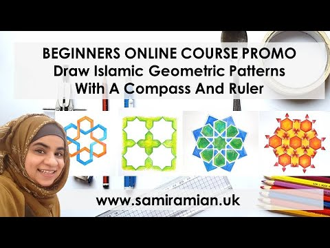 ONLINE COURSE PROMO: Draw Islamic Geometric Patterns with Samira Mian