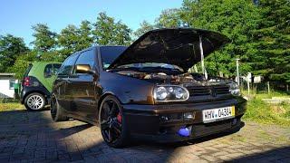 Projekt Golf 3 Vr6 Turbo ist Fertig #Turbogockel #ecumaster #Vr6Turbo #Golf3