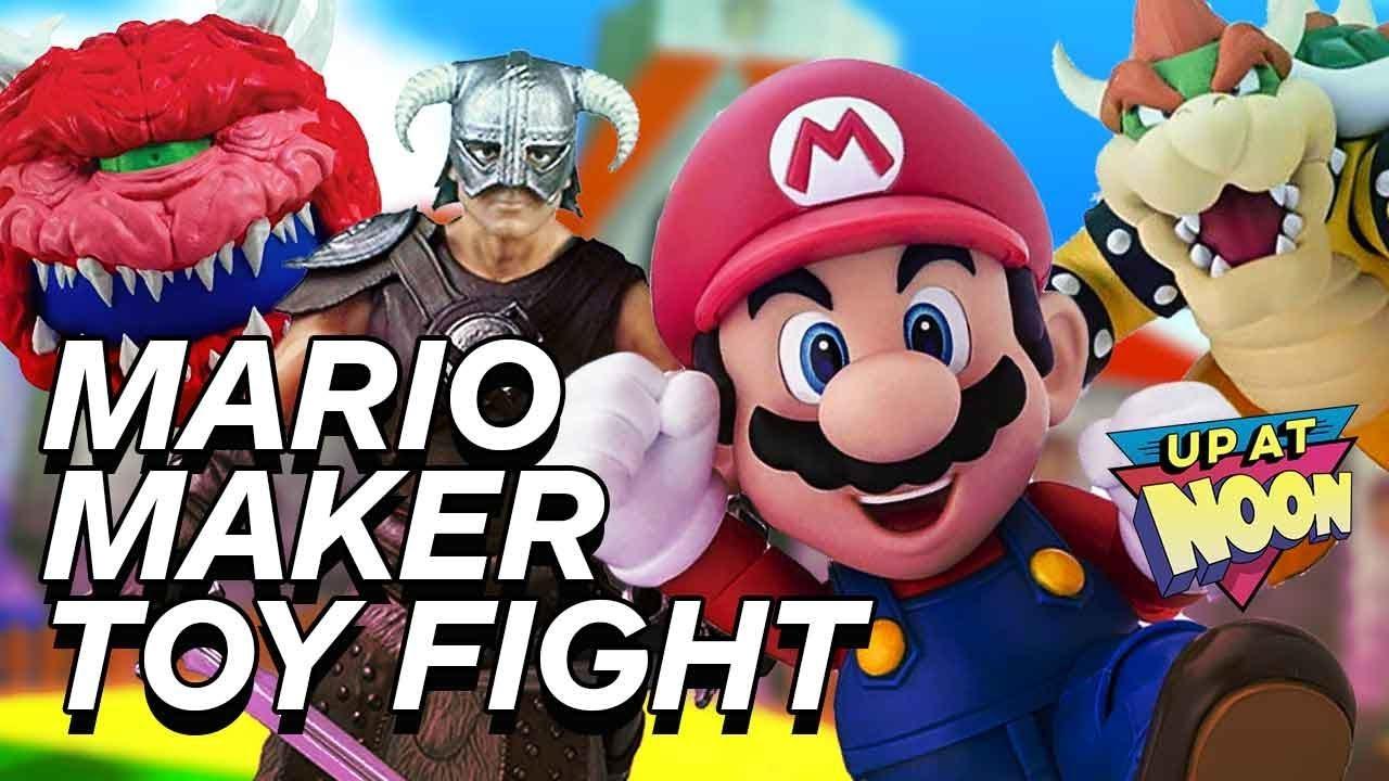 Ei, confira estes grandes brinquedos do Mario Maker! Oh não ... Algo está errado + vídeo