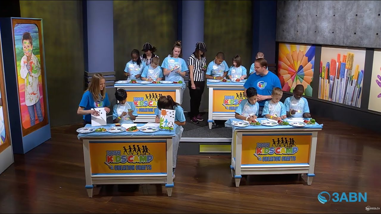 "03 - ""Fruit of the Spirit"" - 3ABN Kids Camp Creation Crafts"