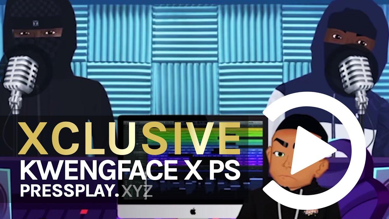 Download (Zone 2 X HitSquad) Kwengface X PS - BarToon Network Freestyle (Back2Back) Ep.1   Pressplay