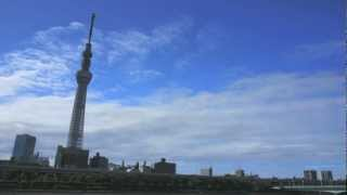 Tokyo Sky Tree / Time Lapse part2