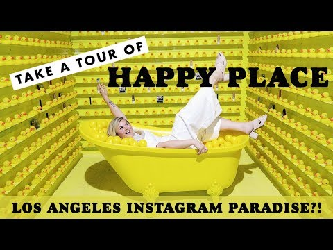 First Complete Tour Of Happy Place in Los Angeles with Almay