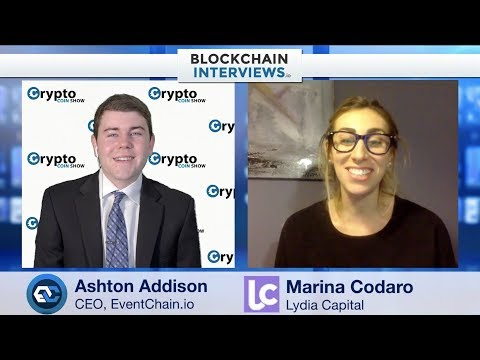 Blockchain Interviews -  Marina Codaro of Lydia Capital