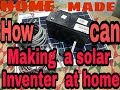 Making a  emergency  lights with  solar power  at home