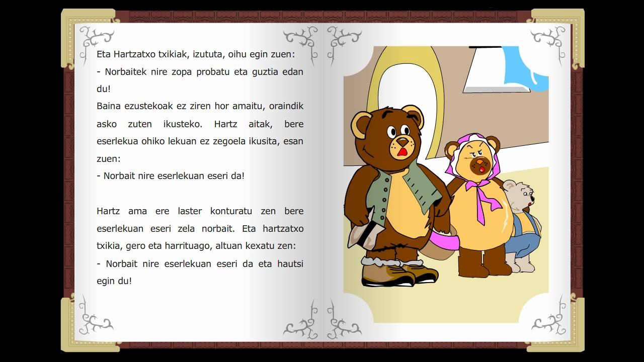 Urrezco Arisortak, Cuentos Clásicos Infantiles En Euskera