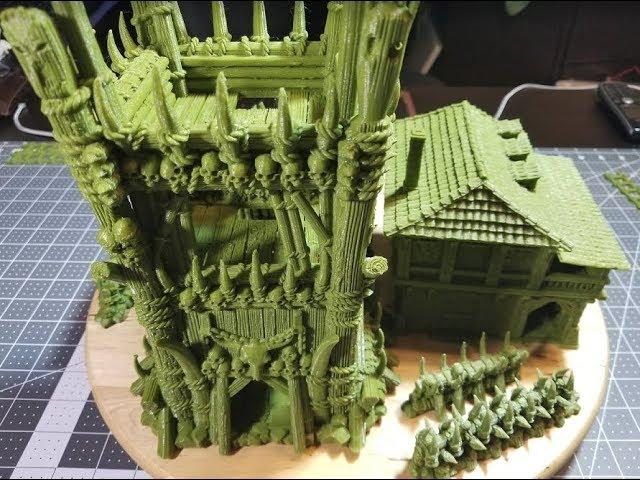 Printable Scenery KS:  The Lost Islands - 3D Printable Terrain for RPG and Wargames