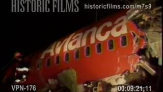 AVIANCA AIRLINE CRASH, COVE NECK & TENNIS COURT RD. COVE NECK, NY - 1990