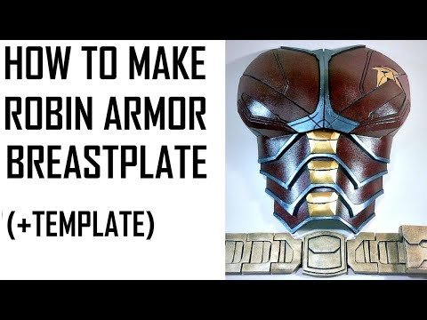HOW TO MAKE ROBIN ARMOR (BREASTPLATE) TITANS