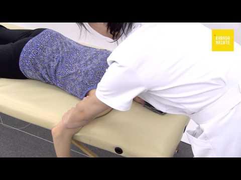 09肩甲骨周辺のマッサージのやり方(右側)