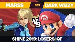 Marss Vs Dark Wizzy - Losers' Quarterfinals: Ultimate Singles Top 12 - Shine