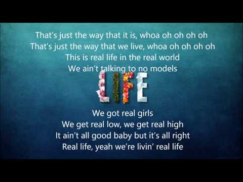 Jake Owen - Real Life (lyrics)