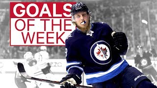 NHL Goals of the Week: Laine on Fire