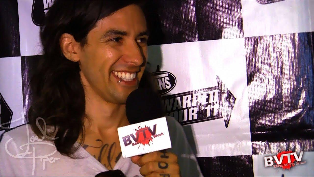 Joel Piper Interview at Warped Tour 2011 - BVTV