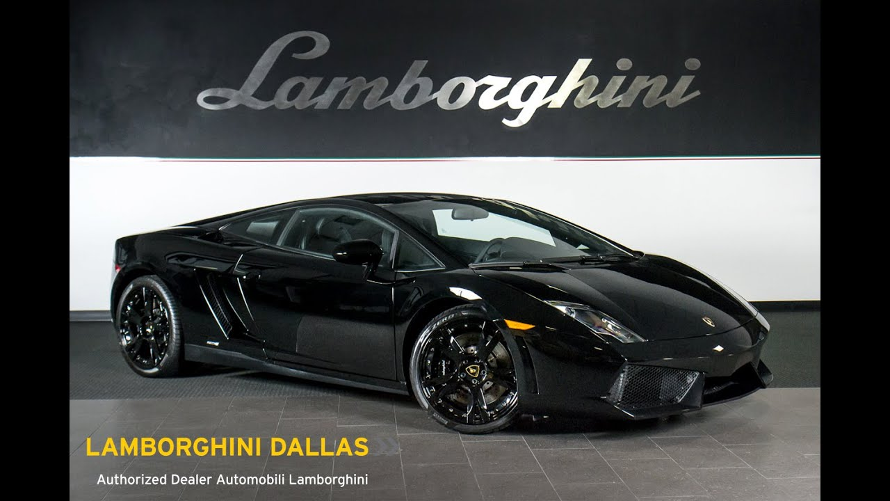 2014 Lamborghini Gallardo LP 550 2 Nero Noctis L0749   YouTube