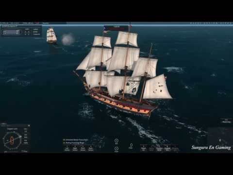 Naval Action ]  British Rattle Snake vs Pirate Snow | Aug 10, 2016