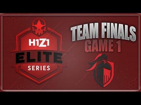 H1Z1 Elite Series DreamHack Sweden/Winter Team Finals Game 1!!