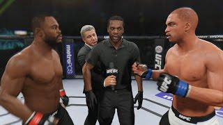 EA Sports UFC 2 Career Mode - Title Fight vs Rashad Evans! Gameplay
