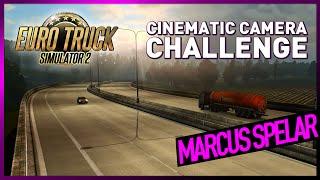 Marcus spelar Euro Truck Simulator 2: Cinematic Camera Challenge