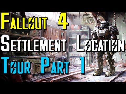 Fallout 4 Settlement Location Tour
