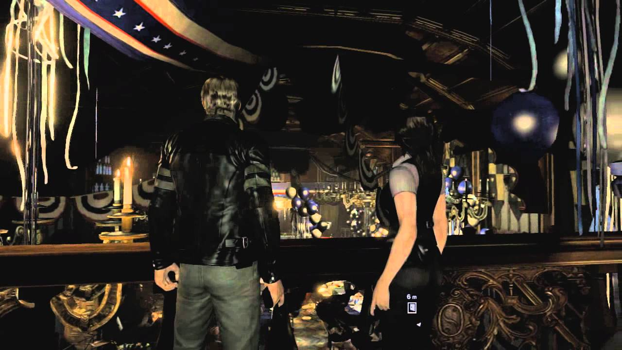 Resident Evil 6 Leon Gameplay Part 1 Hd Youtube