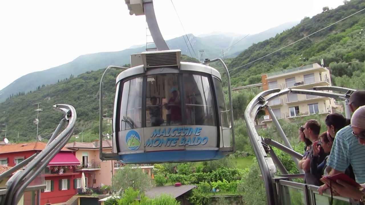 Cable Car Monte Baldo Malcesine Lake Garda Italy 1 June