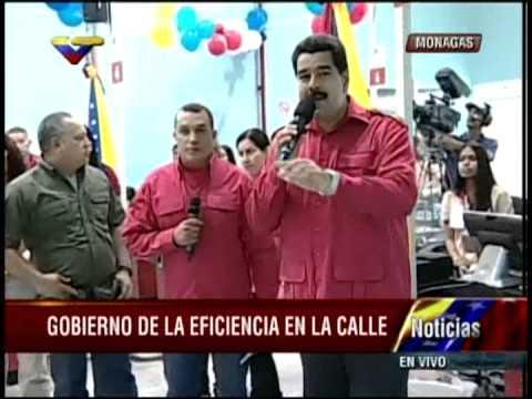 Nicolás Maduro le da un espaldarazo a Eduardo Samán y le pide que continúe adelante.