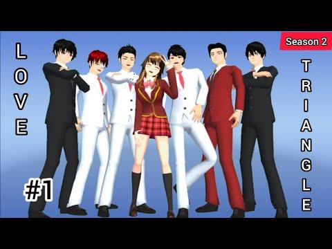 Download 💌 Love Triangle 💞 Episode 1 (Season 2) Minami di culik ?🥺|| SAKURA school simulator