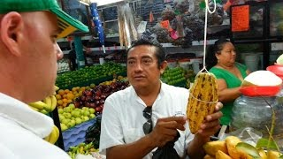 The Root of Health: The Amazing Yucca Root. Market 23 Cancun Mexico