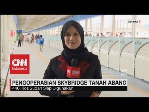 Uji Coba Skybridge Tanah Abang Dilakukan hingga Pekan Depan Mp3