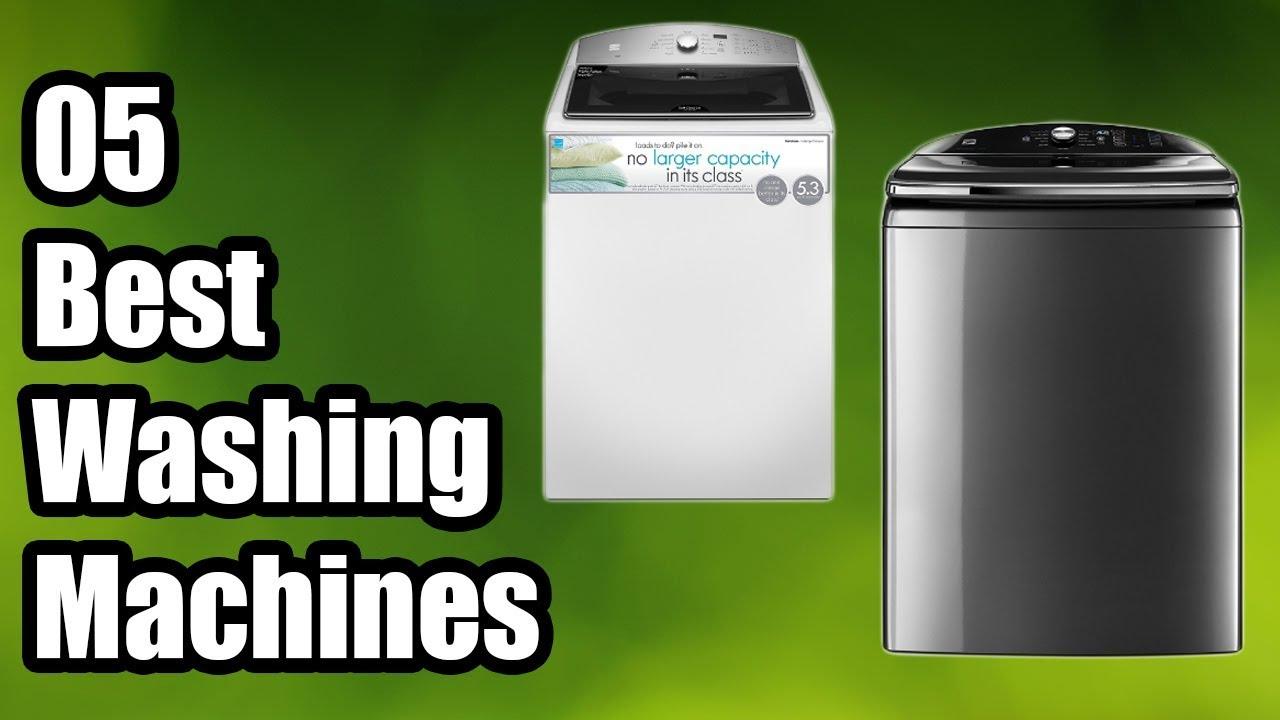 best washing machines reviews 2018