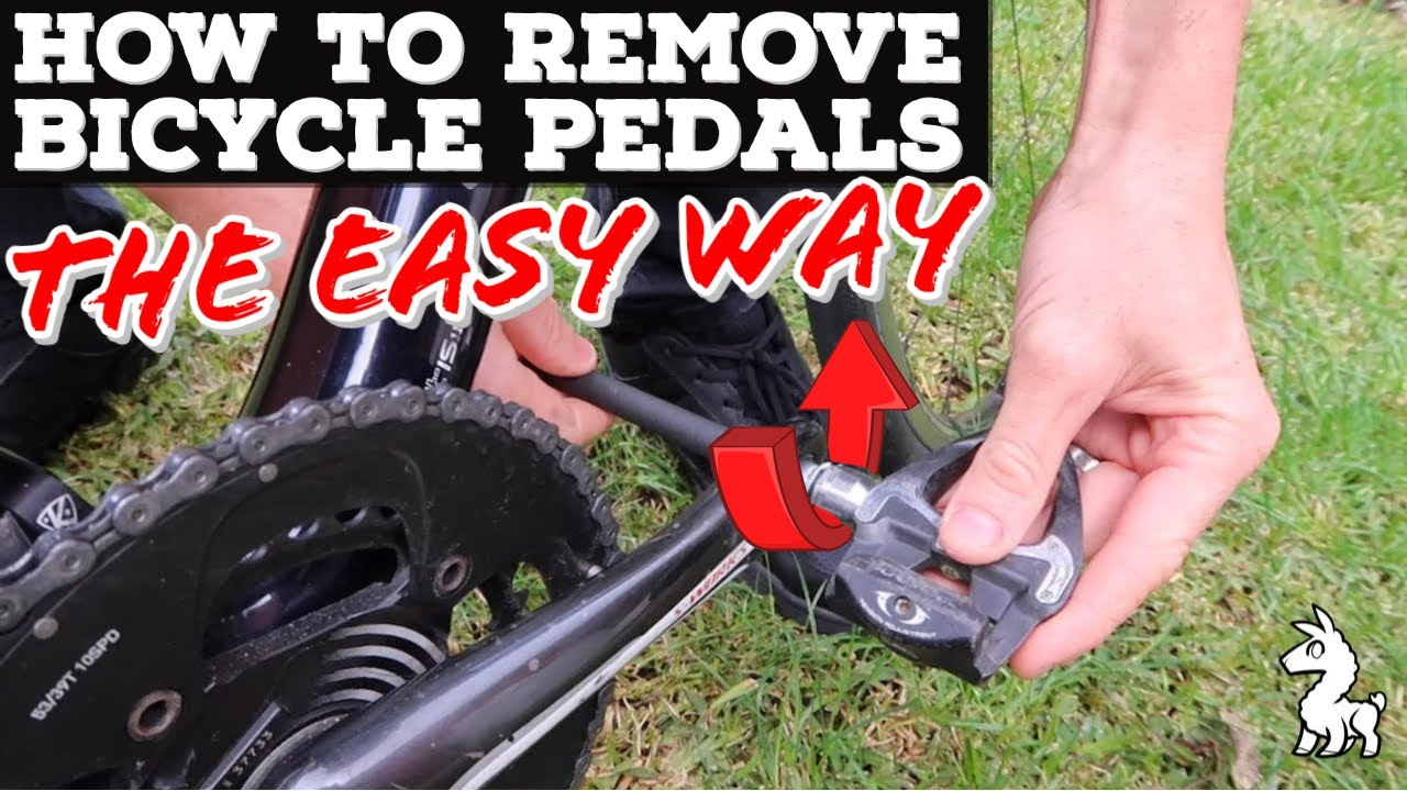 8732a97ccdd How To Remove Bicycle Pedals - The Easy Way - YouTube