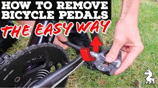 How To Remove Bicỳcle Pedals - The Easy Way