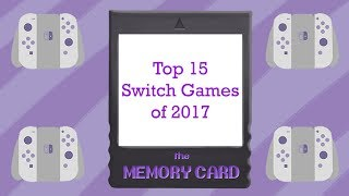 Top 15 Nintendo Switch games of 2017