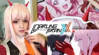 Zero Two Headband Cosplay Tutorial Darling in the Franxx: Under $5!