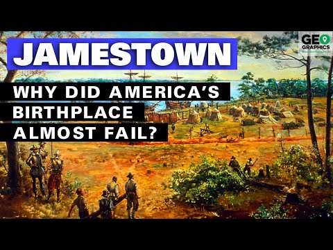 Jamestown: Why Did America's Birthplace Almost Fail?