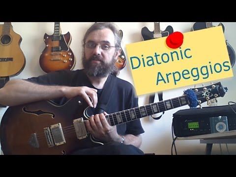Diatonic Arpeggios - How to use and practice them