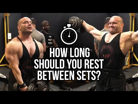 How Long Should You Rest Between Sets | JTSstrength.com