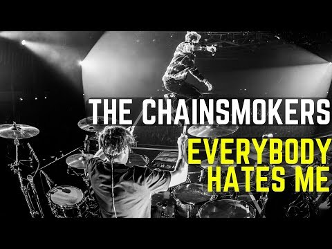 The Chainsmokers - Everybody Hates Me | Matt McGuire LIVE Drum Cover