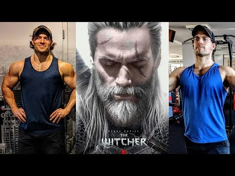 Henry Cavill The Witcher | Training workout & diet