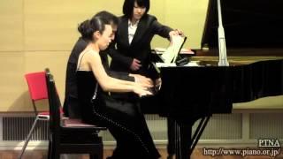 "Schubert: 3 Marches militaires No.3 ""Es-dur"" D 733, Op.51 Pf. 岡原慎也 & 野山真希"