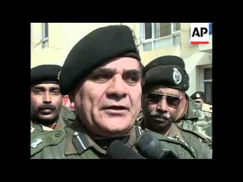 INDIA: KASHMIR MILITANTS ARRESTED